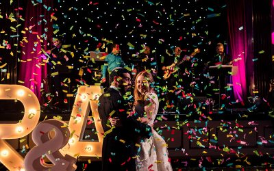A vibrant Jewish wedding at London's Bloomsbury Ballroom