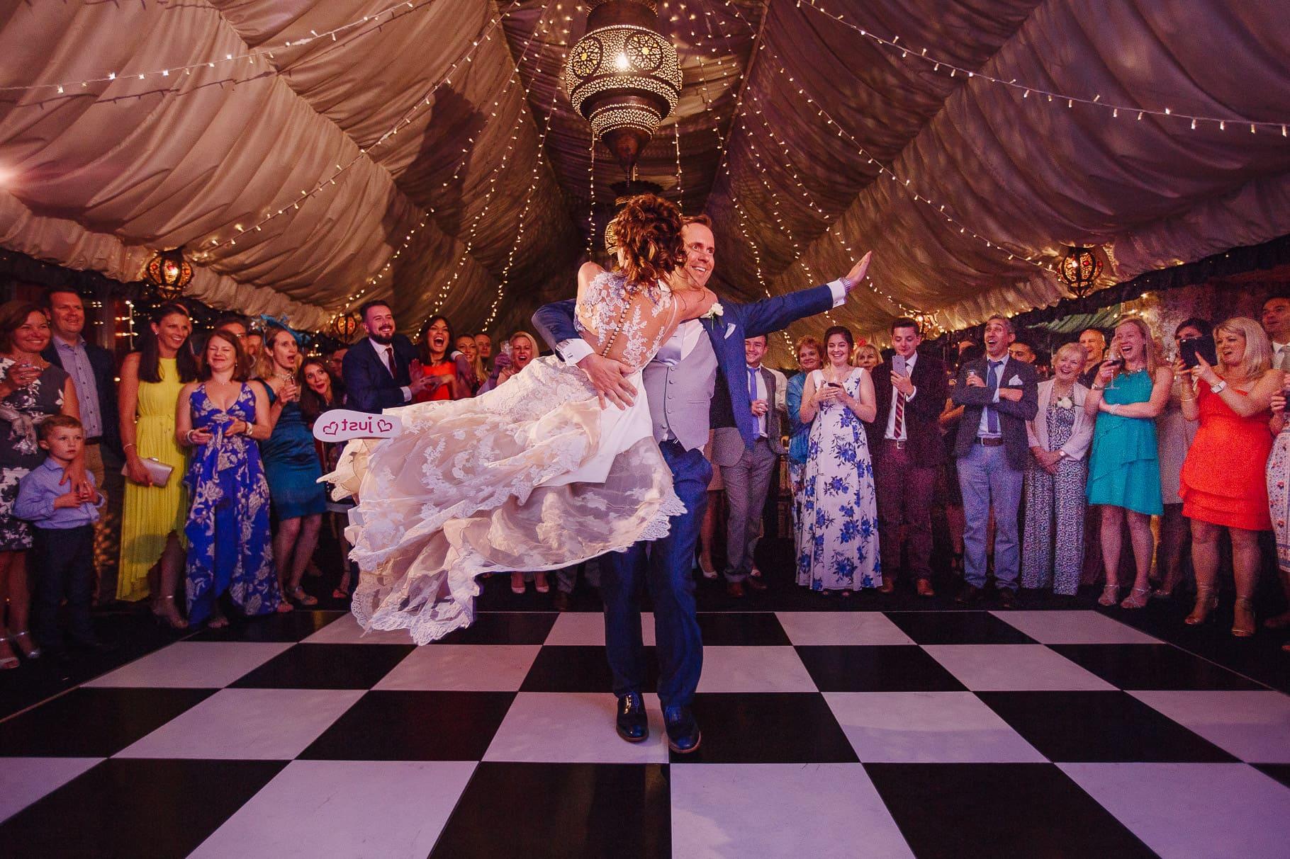 Crazy Bear Wedding Dancefloor