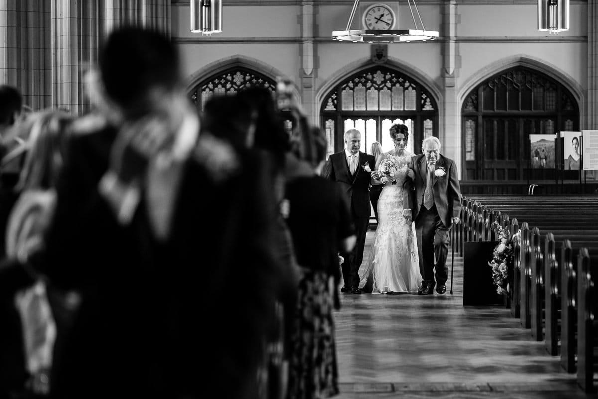 Ealing Cathedral wedding