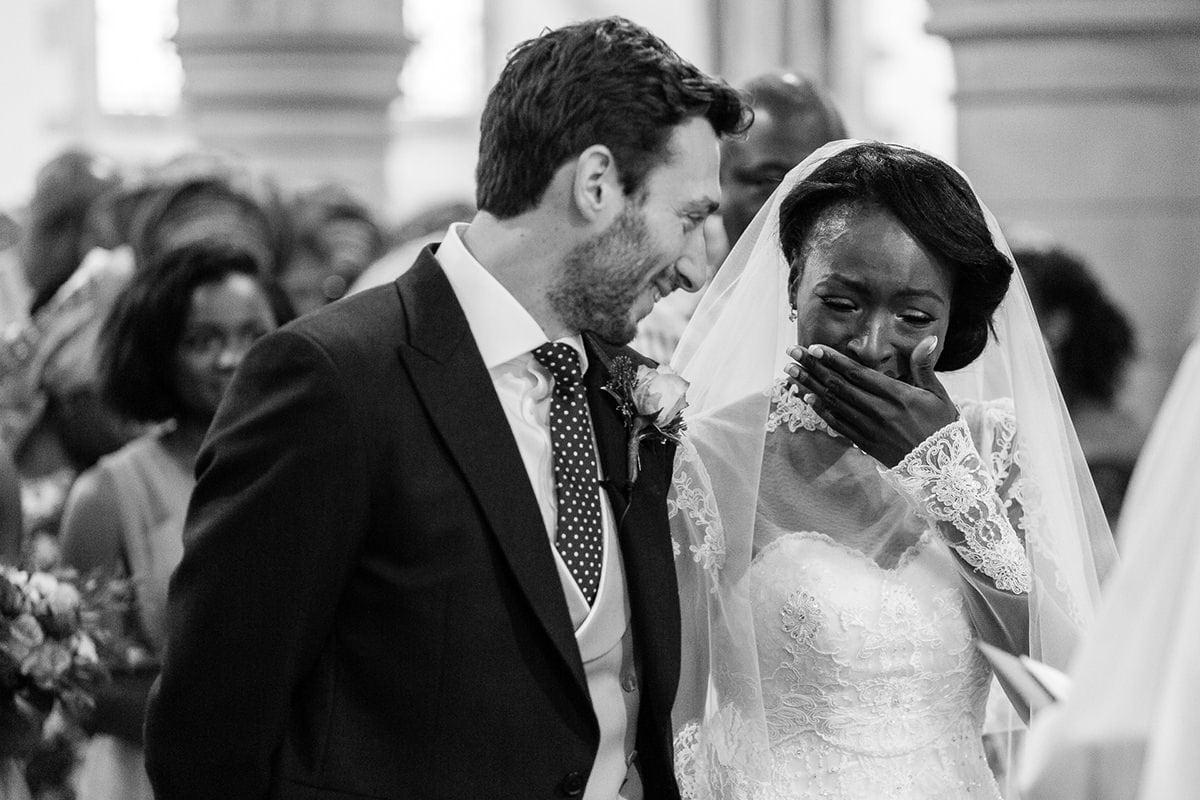 St Mary's Froyle Park wedding