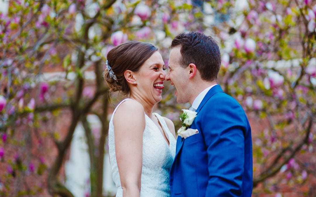 An elegant Gosfield Hall wedding jam-packed with fun and laughter