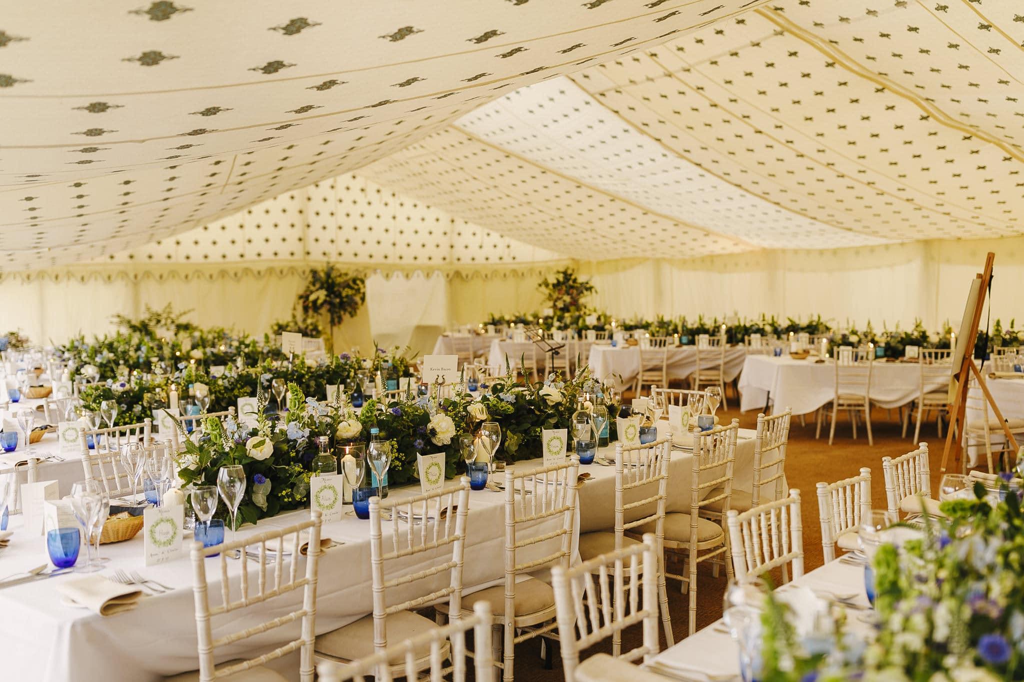 Back garden wedding in Somerset
