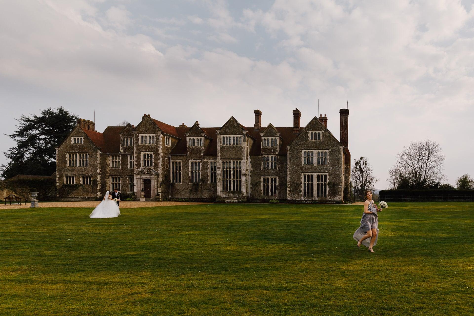 The Grandeur of Elizabethan Manor House at Loseley Park Surrey